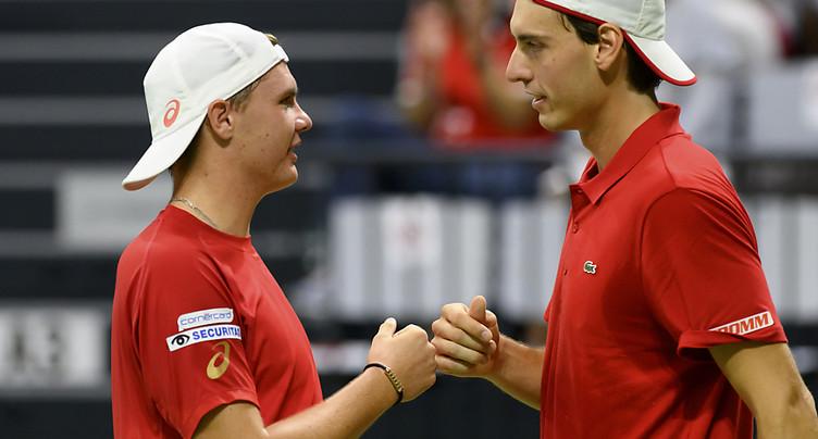 Hüsler/Stricker offrent la victoire à la Suisse