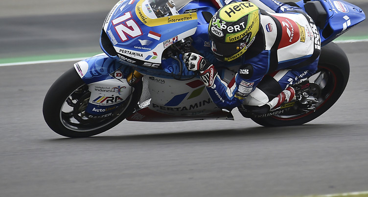 GP de Saint-Marin Moto2: Lüthi s'élancera en cinquième ligne