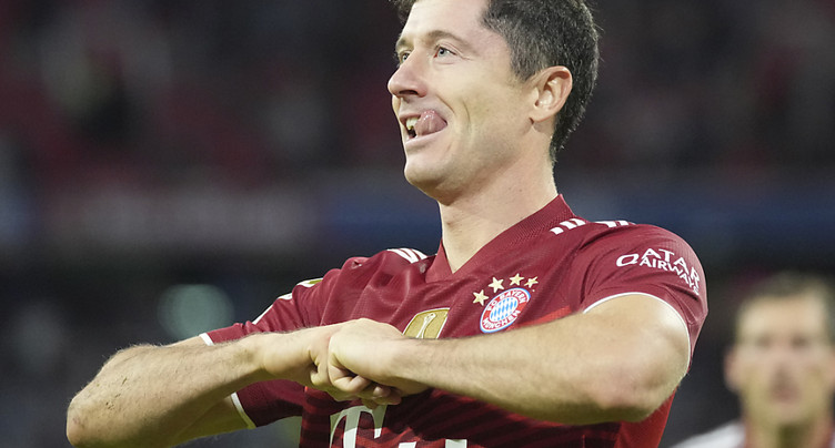 Bundesliga: un nouveau record pour Lewandowski