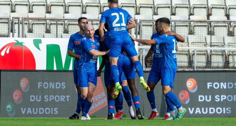 Le Stade Lausanne-Ouchy écrase Sion 4-0