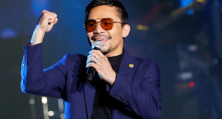 Le boxeur Manny Pacquiao candidat à la présidentielle de 2022
