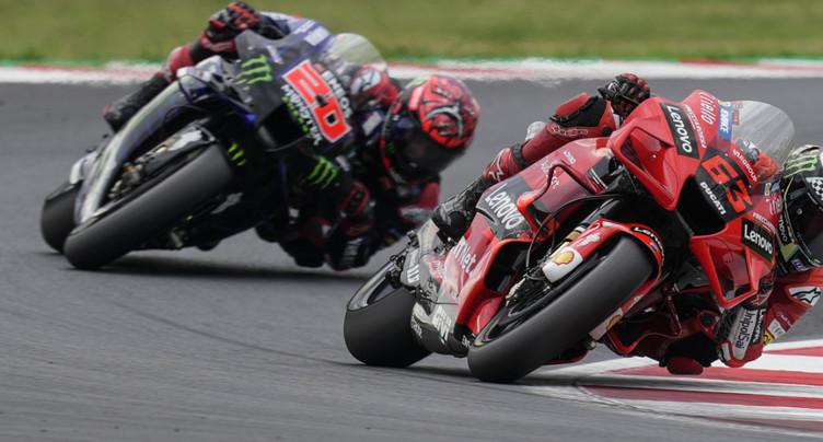 GP de Saint-Marin MotoGP: Bagnaia devant Quartararo