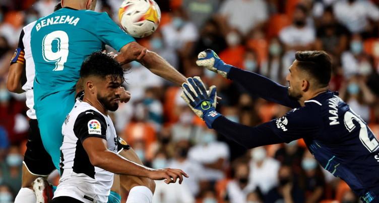 Le Real Madrid reste leader de la Liga après avoir renversé Valence
