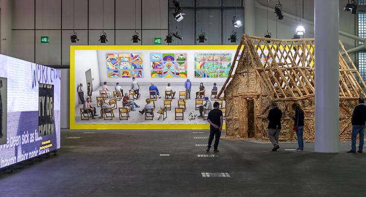 Ouverture de l'édition 2021 d'Art Basel