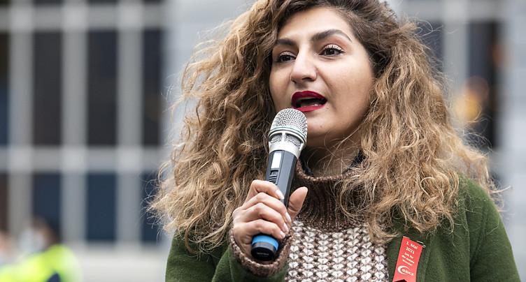 Pas de levée d'immunité pour la conseillère nationale Sibel Arslan