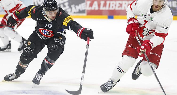 Lausanne se reprend, Fribourg battu pour la 4e fois de suite