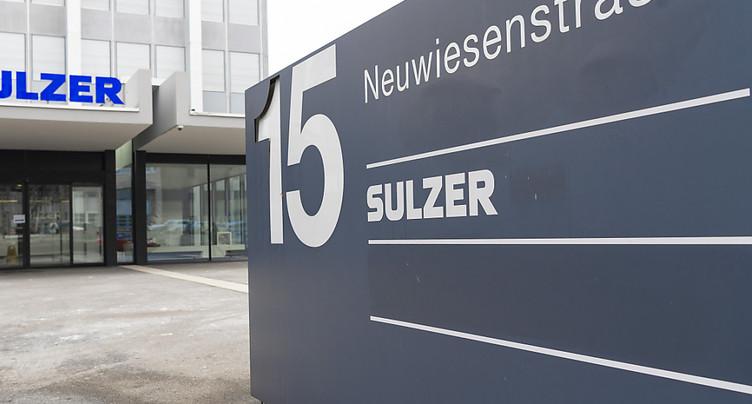 Sulzer: l'IPO de Medmix devrait rapporter 300 millions de francs