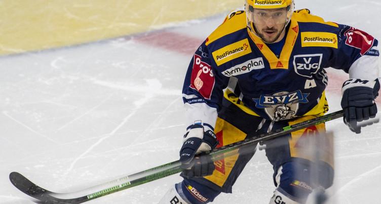 Zoug prolonge son capitaine Jan Kovar jusqu'en 2025
