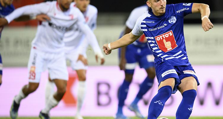 Sion laisse filer deux points contre Lucerne