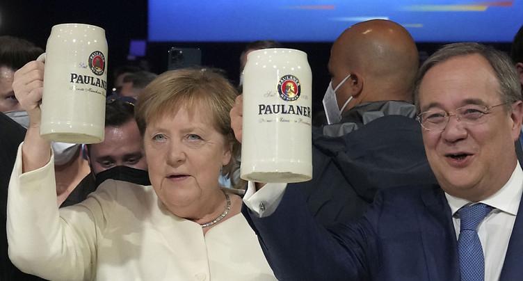 Merkel appelle à voter Laschet pour que « l'Allemagne reste stable »