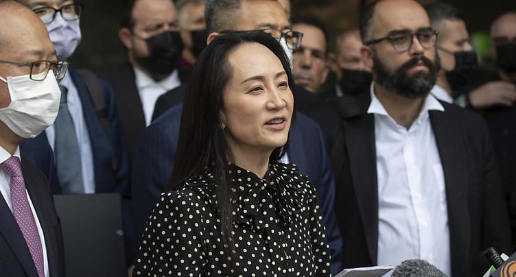 Cadre de Huawei libérée à Vancouver après un accord avec la justice