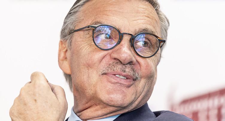 Luc Tardif succède à René Fasel à la présidence
