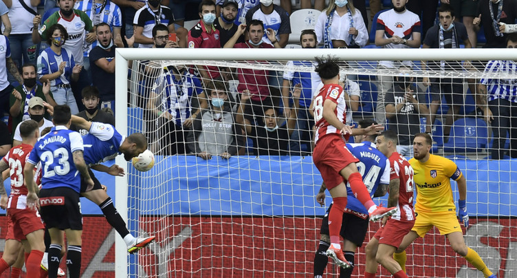Premier faux-pas pour l'Atlético, battu chez la lanterne rouge