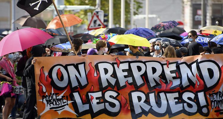 Rassemblement à Lausanne pour défendre le droit à manifester
