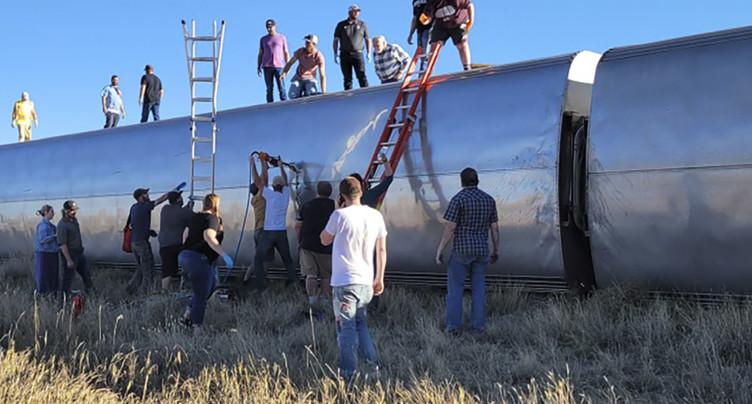 Un train déraille: au moins trois morts dans le Montana