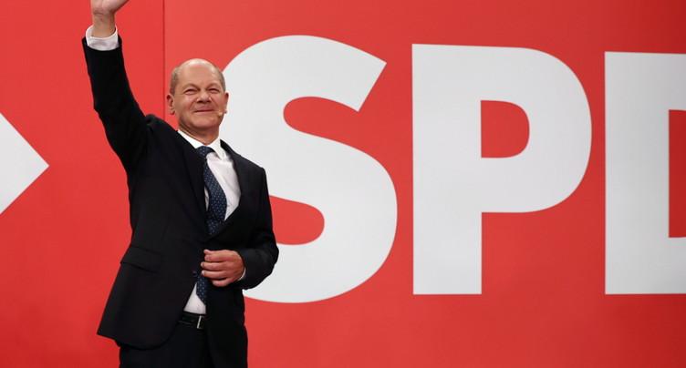 Le SPD gagne les législatives allemandes avec 25,7% des voix
