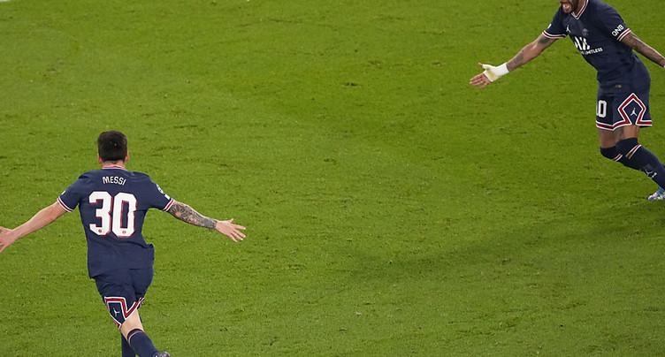 Ligue des champions: Messi débloque son compteur avec le PSG