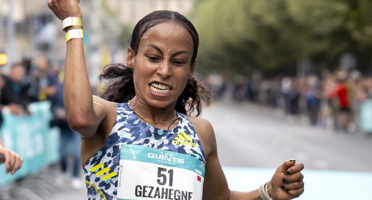 Record du monde pour la Bahreïnienne Gezahegne
