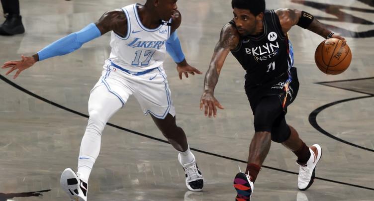 Irving (Nets) autorisé à s'entraîner à New York, mais pas à jouer