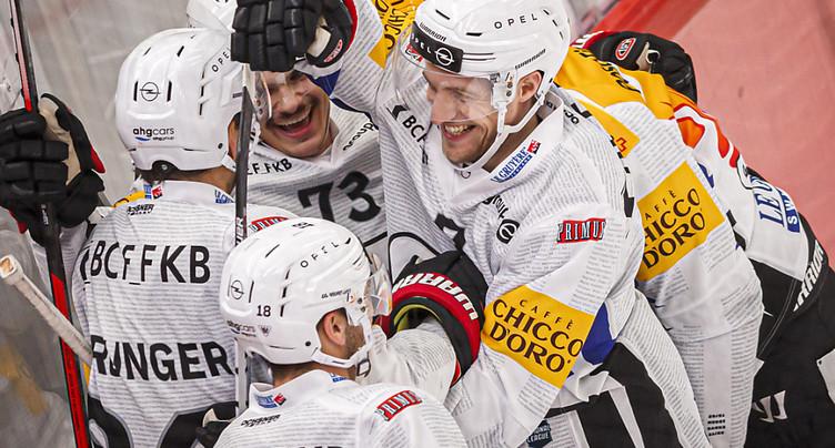 Fribourg-Gottéron contre Munich en huitièmes de finale