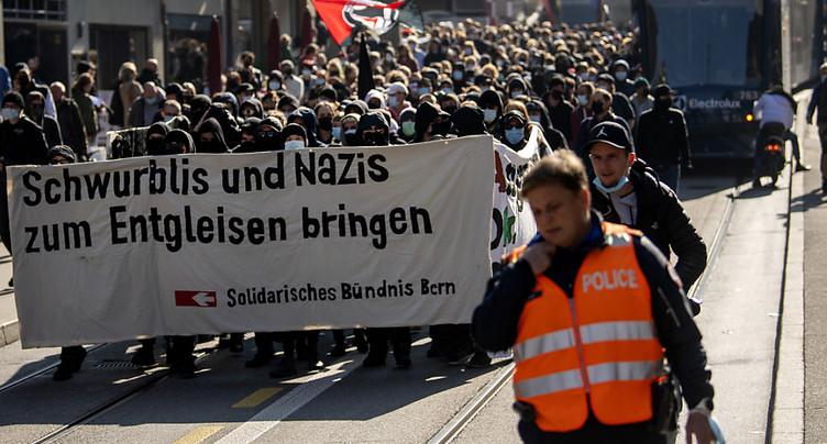 Nouvelles manifestations dans des villes suisses
