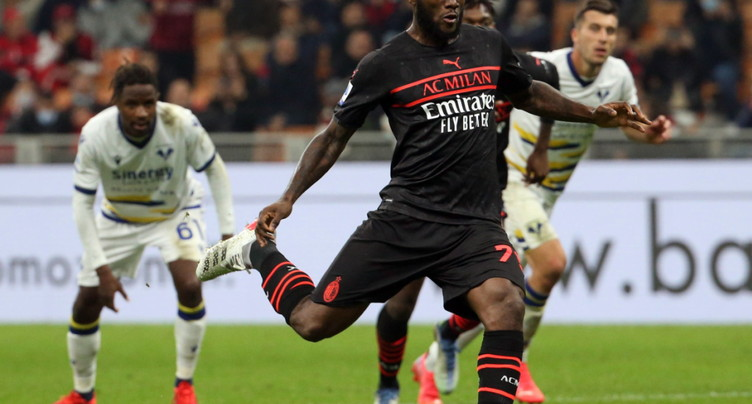 L'AC Milan revient de loin pour battre Vérone
