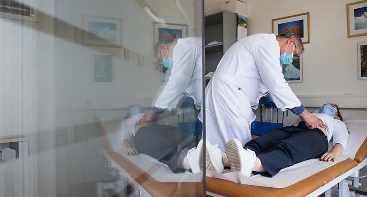 La Suisse compte 2366 nouveaux cas de coronavirus en 72 heures