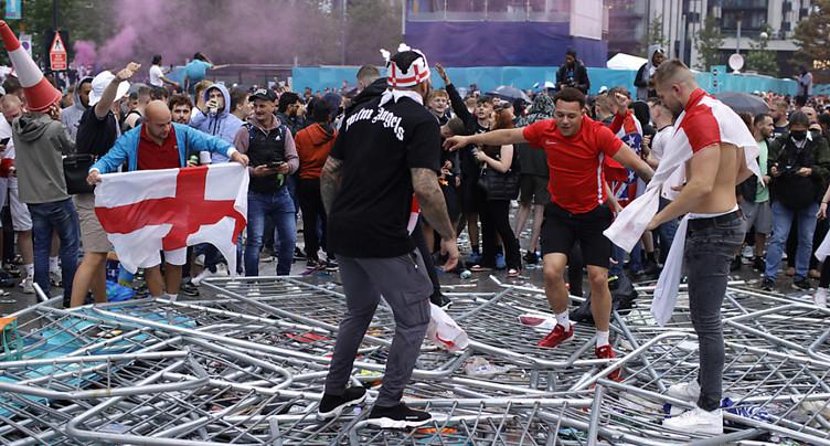 Finale de l'Euro: sanctions contre la Fédération anglaise