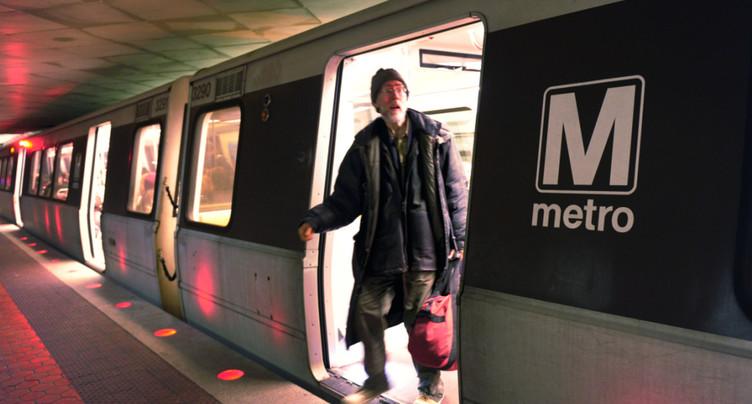 60% des rames du métro de Washington à l'arrêt