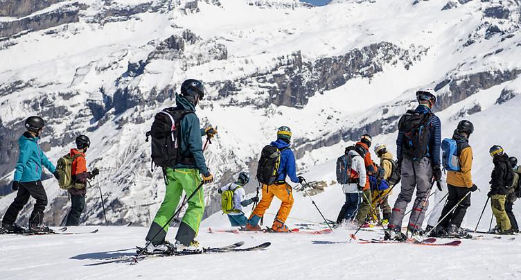 Le pass sanitaire pas nécessaire pour skier cet hiver