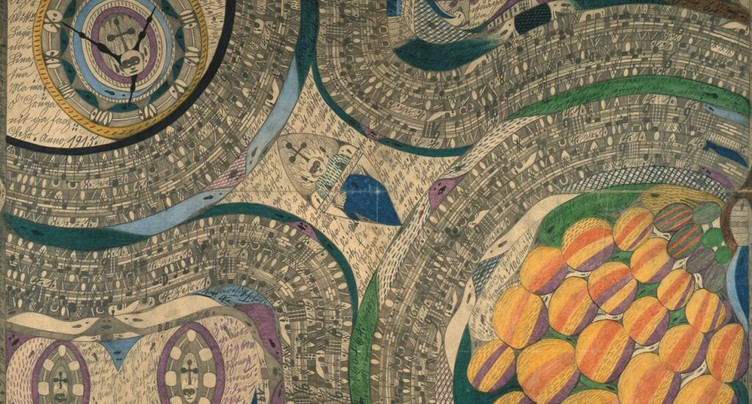 « Ecrits d'Art Brut » au Musée Tinguely à Bâle