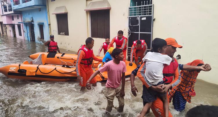 Inde: au moins 41 morts dans des inondations et glissements de terrain