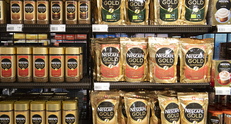 Nestlé relève ses prévisions annuelles de croissance organique