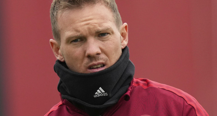 L'entraîneur du Bayern, Julian Nagelsmann, positif au Covid-19