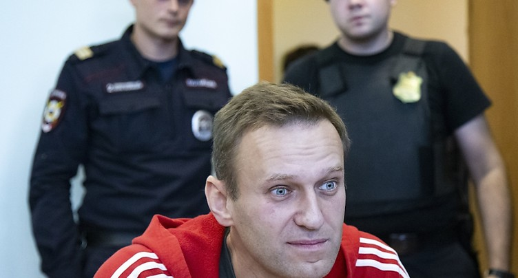 L'opposant russe Navalny « honoré » d'avoir reçu le prix Sakharov