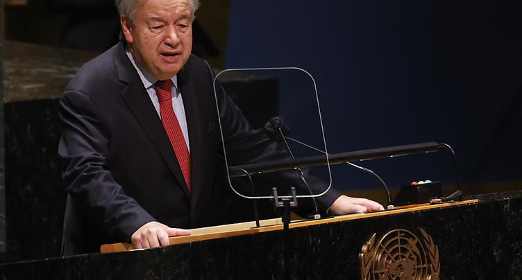 COP26: le secrétaire général de l'ONU « inquiet » d'un possible échec