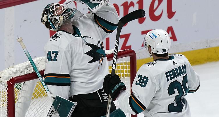 Meier et les Sharks sur leur lancée