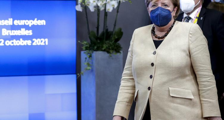 Les Européens rendent hommage à l'esprit de compromis de Merkel