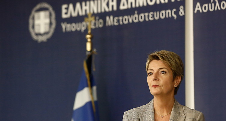 Mme Keller-Sutter pessimiste sur la réforme européenne de l'asile