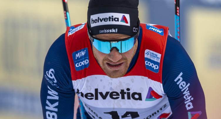 Dario Cologna souffre d'un genou