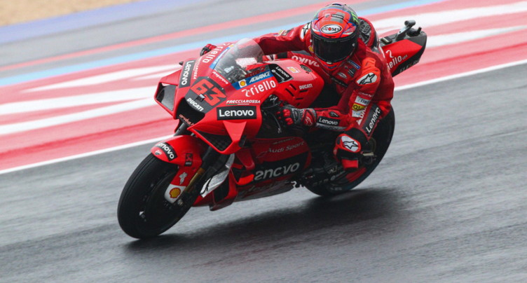 MotoGP: Bagnaia en pole, Quartararo 15e sur la grille