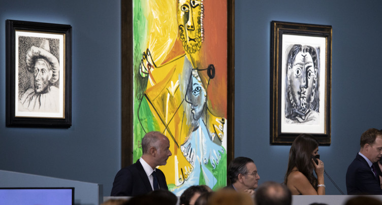 Des Picasso vendus à Las Vegas pour 108 millions de dollars