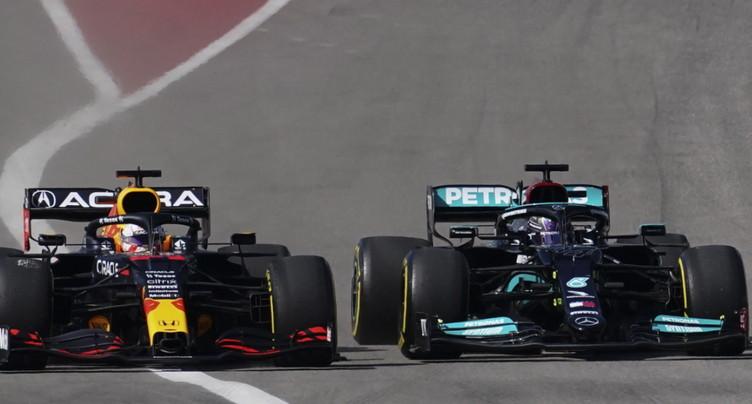 GP des Etats-Unis: Verstappen l'emporte de peu devant Hamilton