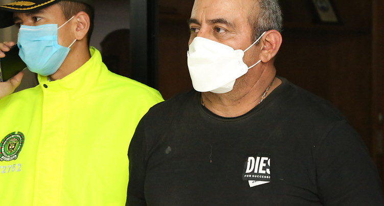 Bogotá prépare l'extradition du baron de la drogue « Otoniel »