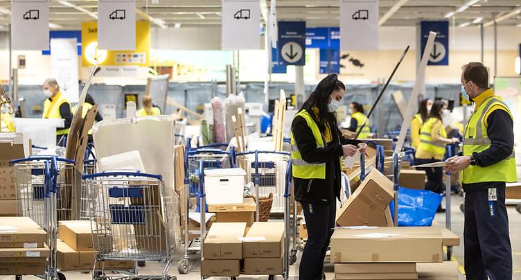 Ikea Suisse accélère sa croissance grâce au commerce en ligne
