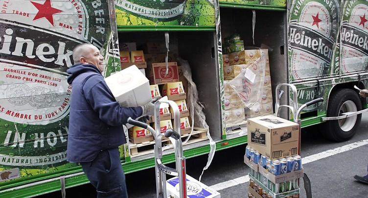 Heineken voit son bénéfice bondir,  mais reste affecté par le Covid