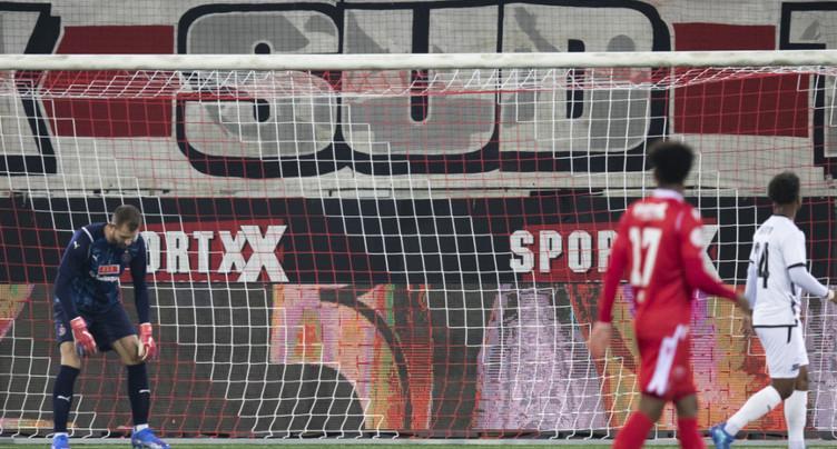 Le Servette FC touche le fond