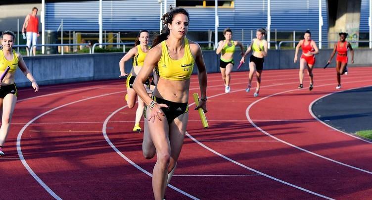 Fanette Humair améliore son record jurassien du 400 m