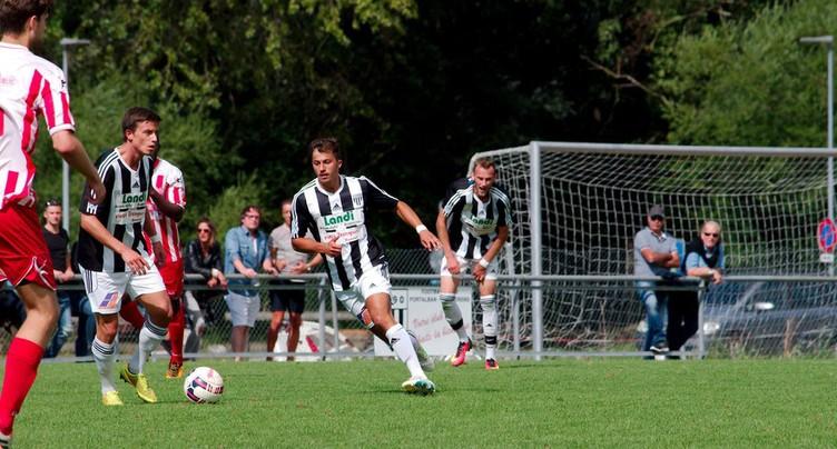 Un point pour le FC Portalban