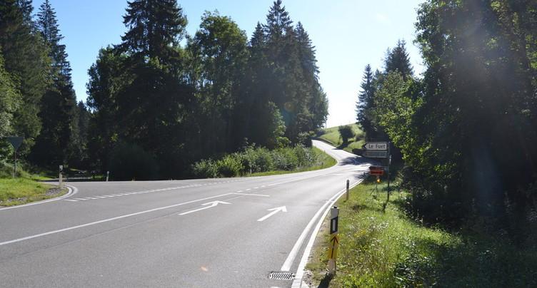 Accident mortel pour un motard à Tavannes